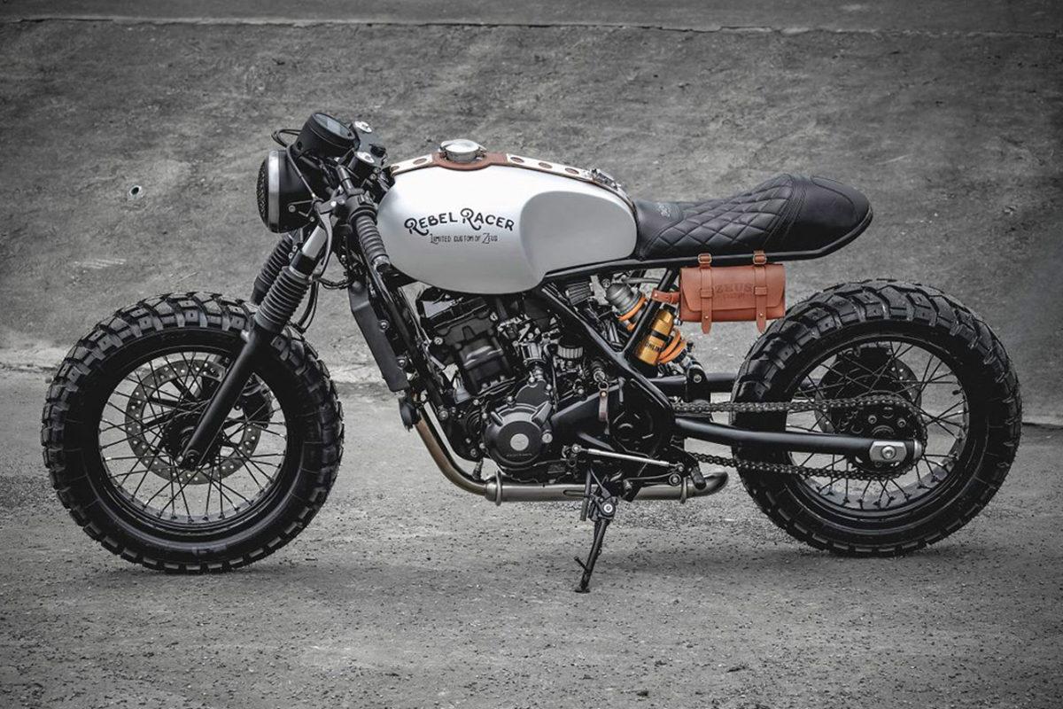 Moto Cafe Racer Zeus