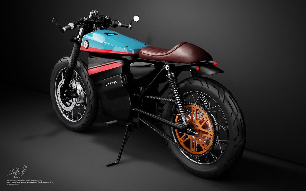 Honda Cafe Racer 125   Une Moto  U00e9lectrique Ultra Canon