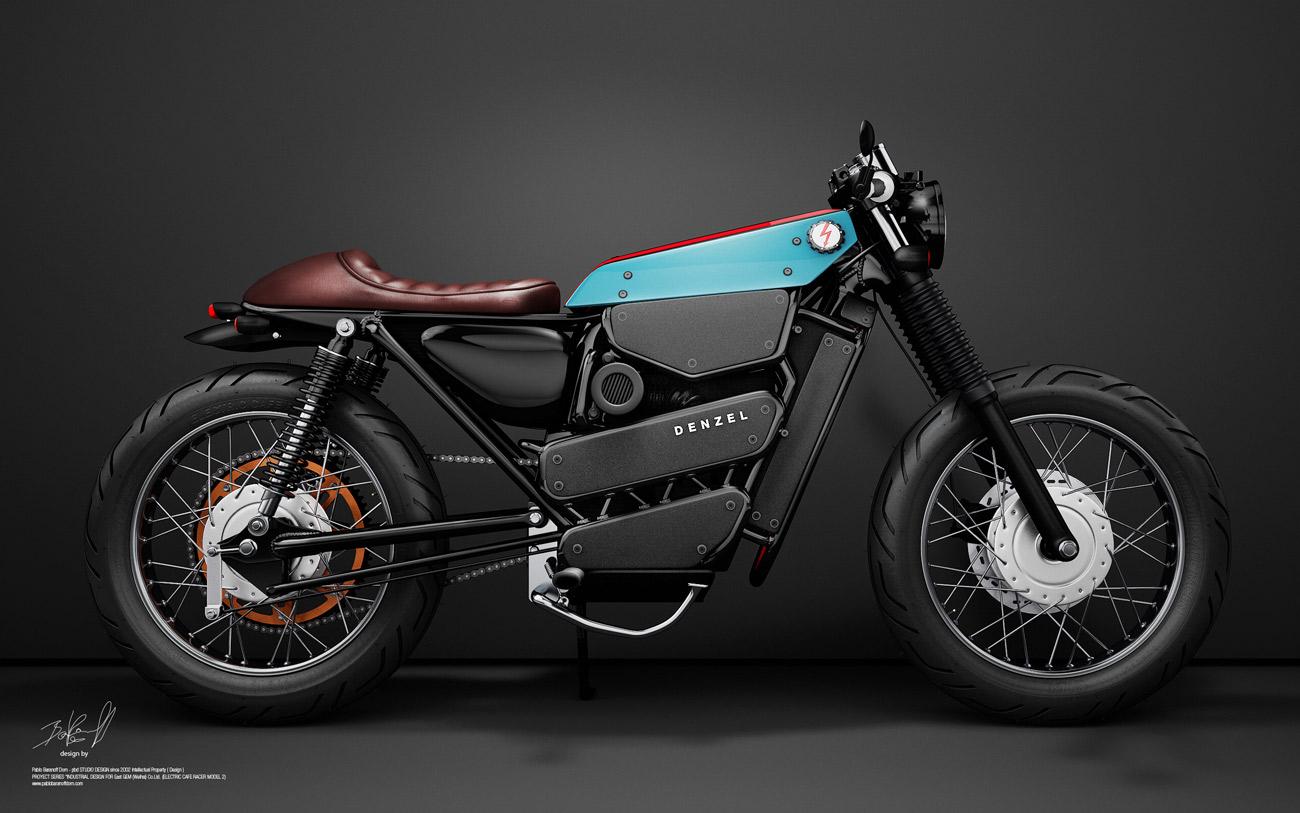 Honda Cafe Racer 125 : une moto électrique ultra canon