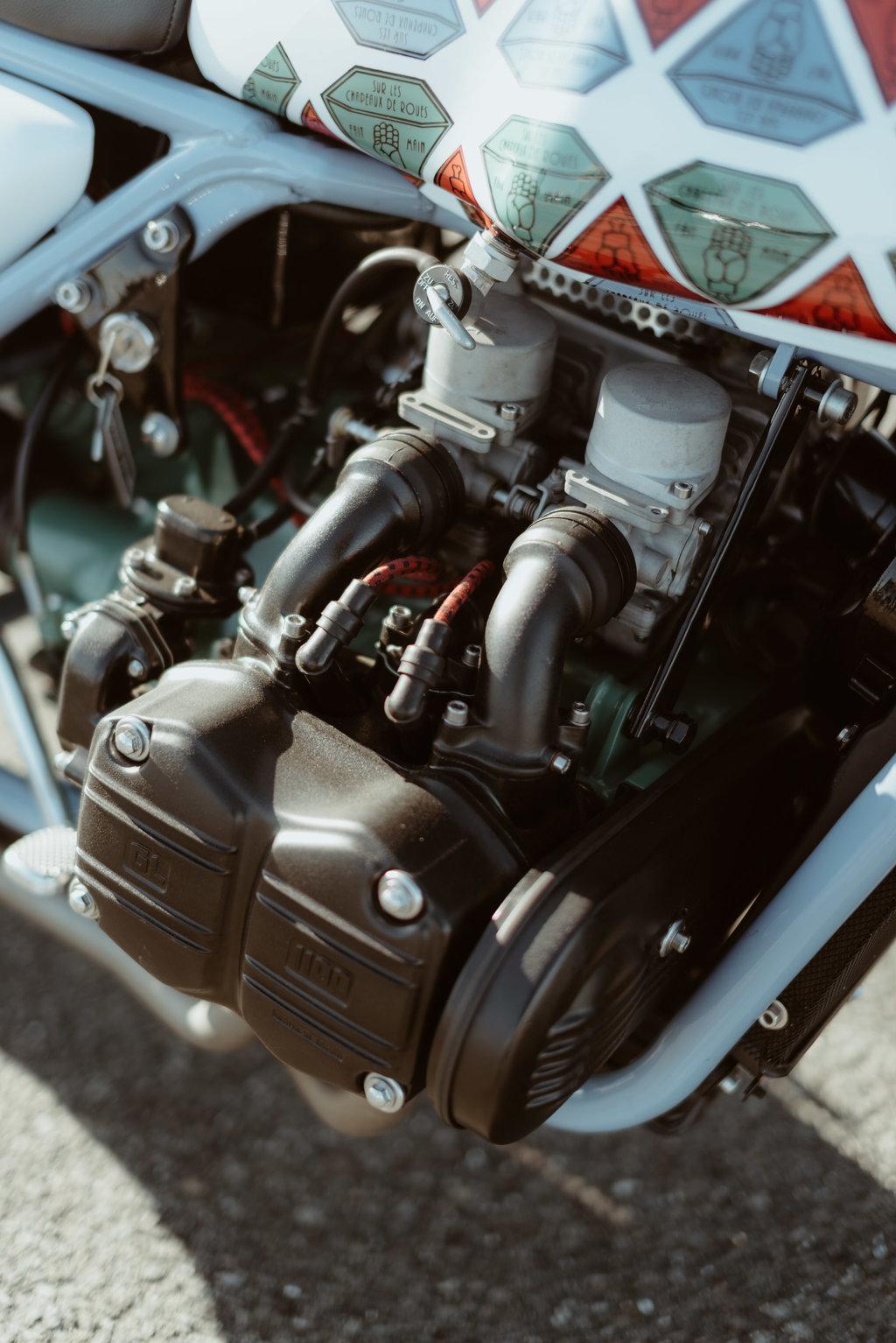 Custom Une Magnifique Honda 1100 Goldwing Remise Au Go 251 T