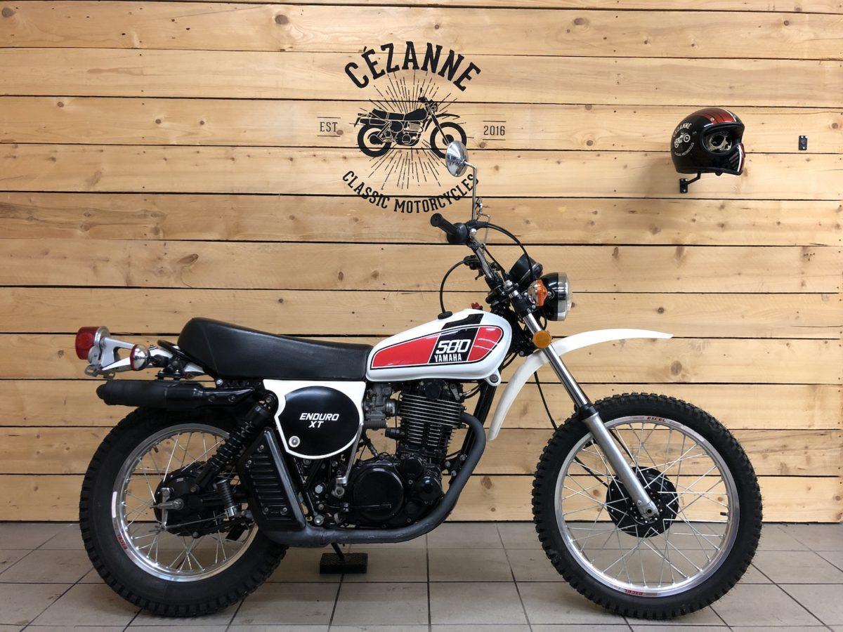 Découvrez la Yamaha XT 500, le mythique monocylindre des années 70