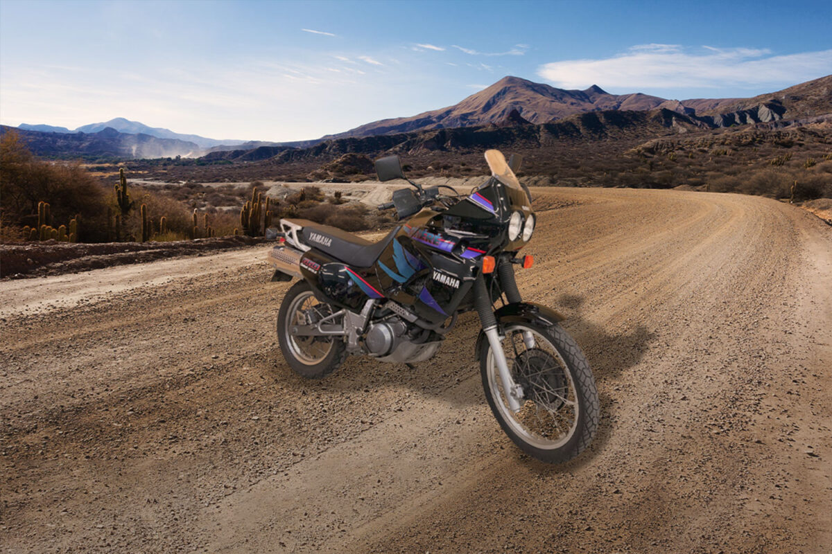 1994 : une nouvelle génération de Yamaha XTZ 660 fait son apparition !